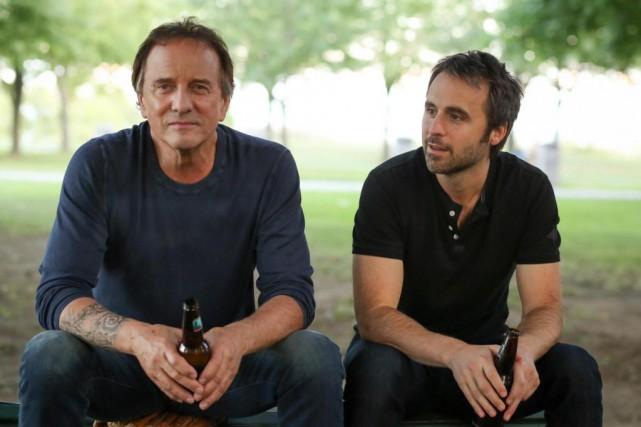 Michel Côté et Louis-José Houde, le tandem à... (Photofournie parLes Films Séville)