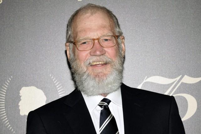 David Letterman... (PHOTO ARCHIVES AP)