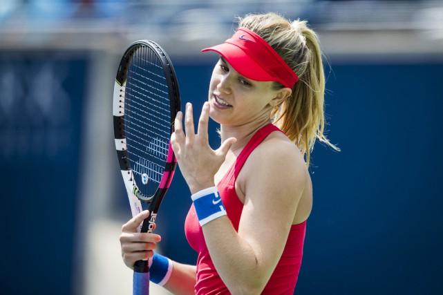 Eugenie Bouchard a perdu au premier tour à... (La Presse canadienne, Mark Blinch)