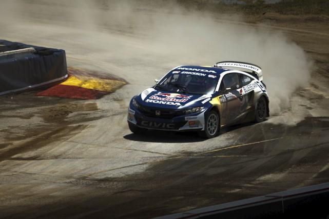 Dominic Fugère croit que Honda pourrait être du... (Global Rallycross Championship)