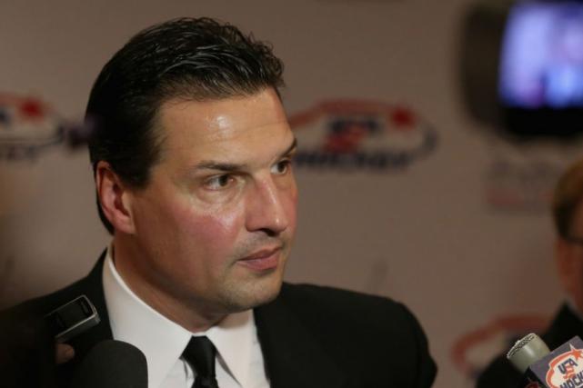 Eddie Olczyk a disputé 16 saisons dans la... (Photo AFP)