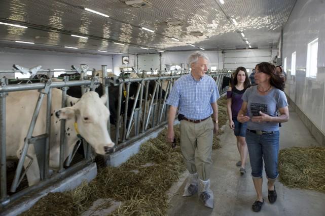 Le président-directeur général de la Financière agricole, Ernest... (Stéphane Lessard)
