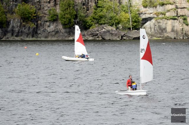 Des jeunes de Saguenay peuvent s'initier à la... (Photo Le Quotidien, Jeannot Lévesque)