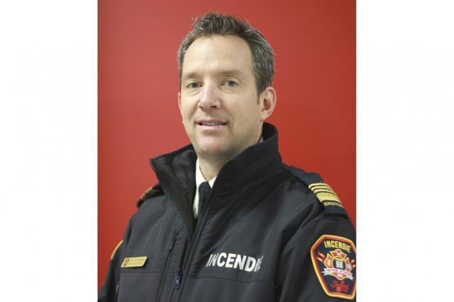 Le Service des incendies de Bromont, Brigham et... (fournie)