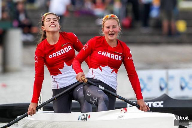 Sophia Jensen (à droite)a gagné deux autres courses... (Archives, Le Droit)