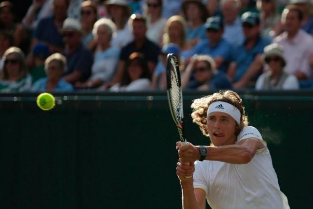 Alexander Zverev n'a que 20 ans et compte... (photoDaniel LEAL-OLIVAS, archives agence france-presse)