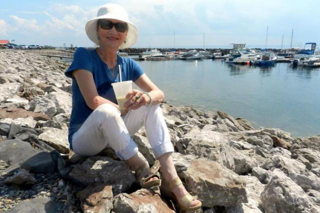 L'actrice Diane Lavallée passe l'été dans la baie... (PHOTO SOPHIE I. GAGNON, COLLABORATION SPÉCIALE)