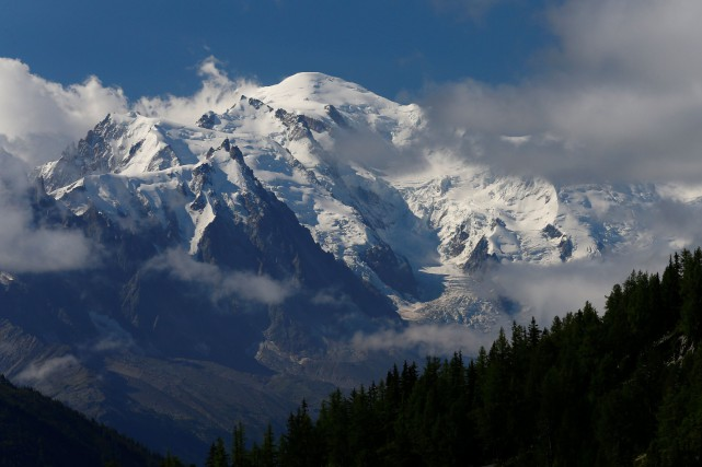 Le Mont-Blanc.... (ARCHIVES REUTERS)