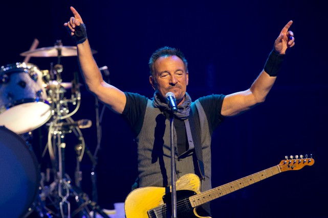 Le spectacle Springsteen on Broadway sera présenté du... (AFP, Bertrand Guay)
