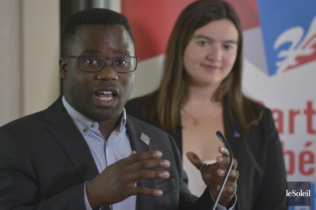 Leprésident de la Commission jeunesse du Parti libéral... (Le Soleil, Yan Doublet)