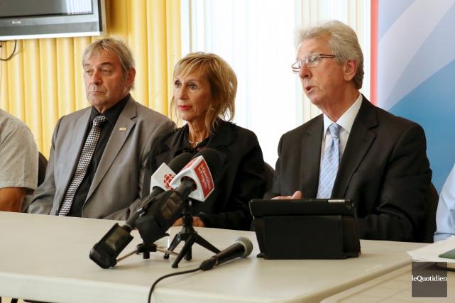 Jean-Pierre Blackburn a fait la promesse de restaurer... (Photo Le Quotidien, Yohann Gasse)