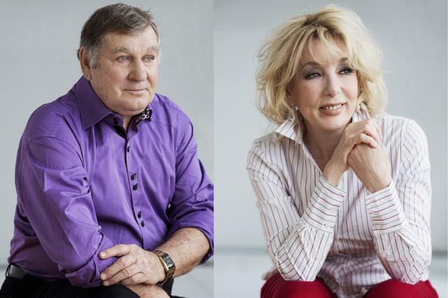 Réjean Lefrançois et Marie-Josée Longchamps, qui formaient le... (fournies)