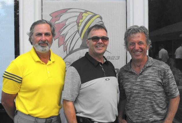 Le trio de tête au Championnat senior provincial... (Courtoisie)