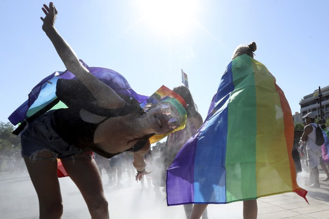 Un nouveau sondage sur la diversité sexuelle suggère... (AFP, Valery Hache)