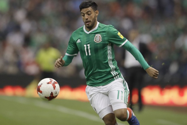 Carlos Vela... (Photo Rebecca Blackwell, archives Associated Press)