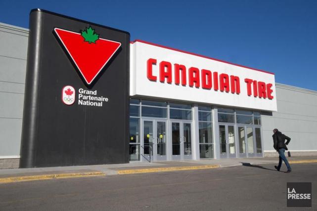 La Société Canadian Tire a indiqué jeudi que son bénéfice du deuxième trimestre... (PHOTO ROBERT SKINNER, Archives LA PRESSE)