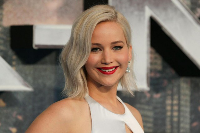 L'actrice Jennifer Lawrence... (Photo DANIEL LEAL-OLIVAS, archives Agence France-Presse)