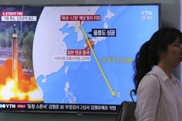 L'armée nord-coréenne apportera les touches finales à son... (PHOTO AP)