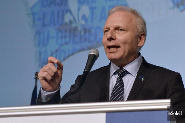 Le chef du Parti québécois, Jean-François Lisée, impute... (Photothèque Le Soleil)