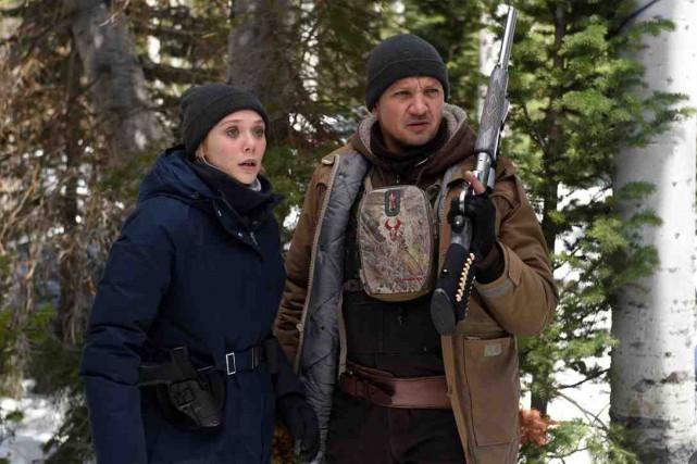 Elizabeth Olsen et Jeremy Renner dans Wind River,... (Fournie par VVS Films)