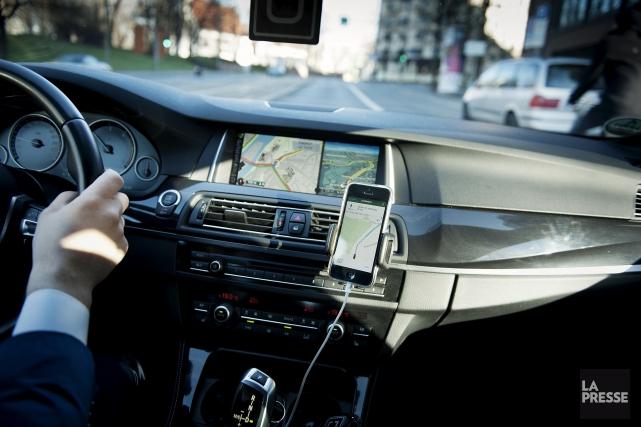 Sortir avec Uber permet de capter au vol... (La Preesse, NYT)