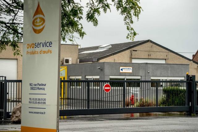 En France, Ovo Service, située à Roncq, dans... (AFP, Philippe Huguen)