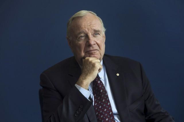 L'ancien premier ministre Paul Martin a déclaré qu'il... (La Presse canadienne, Adrian Wyld)