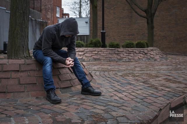 Des organismes de lutte contre la pauvreté souligne... (PHOTO OLIVIER PONTBRIAND, LA PRESSE)