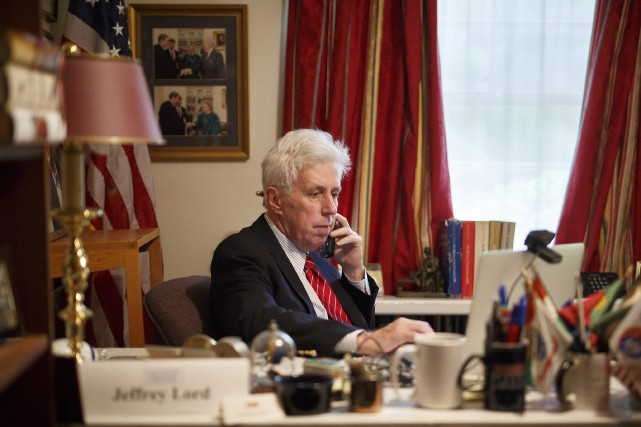 Jeffrey Lord... (Photo Daniel Zampogna, AP)