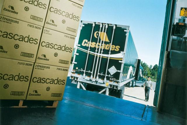Cascades a augmenté son bénéfice et ses revenus... (Photo fournie par Cascades)