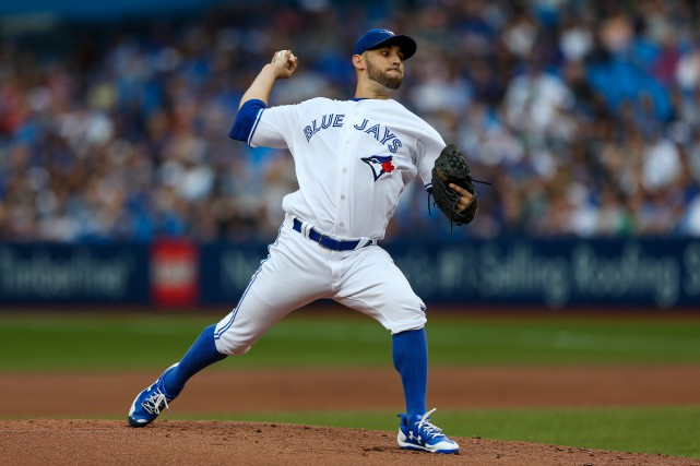 Marco Estrada... (Photo Kevin Sousa, USA TODAY Sports)