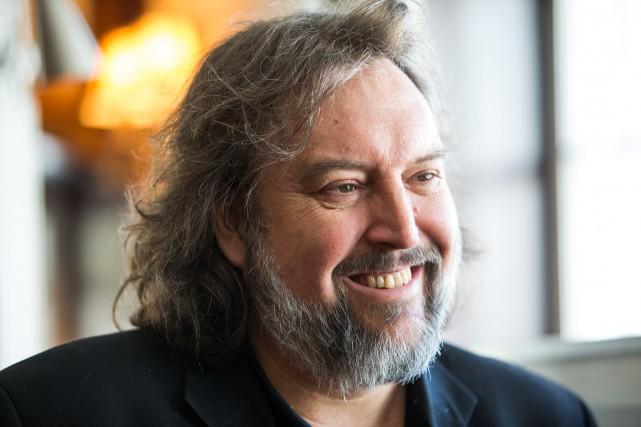 Bryan Perro, directeur général de Culture Shawinigan, trace... (Olivier Croteau)