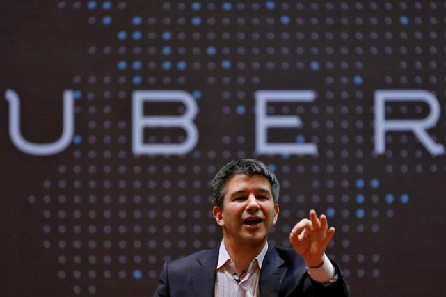 Travis Kalanick, l'emblématique et controversé ex-PDG d'Uber, avait... (photoDanish Siddiqui, archives reuters)