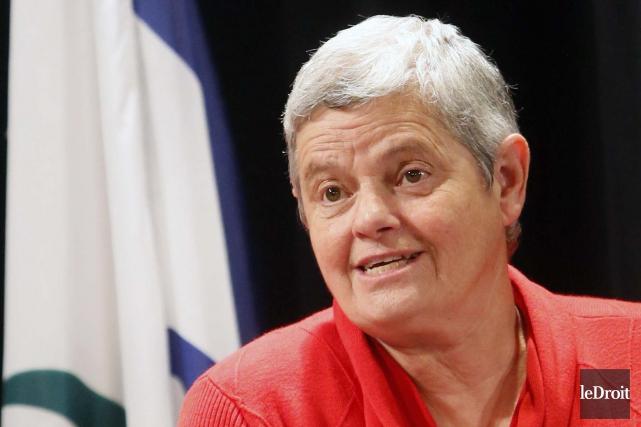 La conseillère Denise Laferrière... (Simon Séguin-Bertrand, Archives Le Droit)