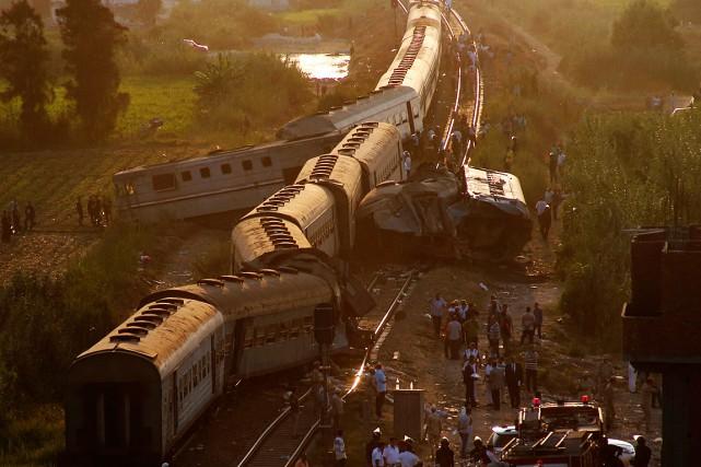 Un responsable médical a dit que la collision... (PHOTO RAVY SHAKER, ASSOCIATED PRESS)