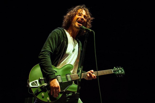 Chris Cornell... (Photo Barry Brecheisen, Archives Associated Press)