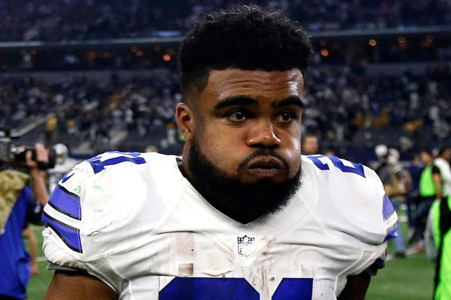 Ezekiel Elliott dispose d'un délai de trois jours ouvrables... (PHOTO MICHAEL AINSWORTH, ARCHIVES ASSOCIATED PRESS)