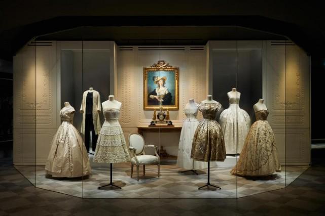 L'exposition Christian Dior, couturier du rêveprésente plus de... (photo Adrian Dirand, fournie parLe Musée des Arts décoratifs de Paris)