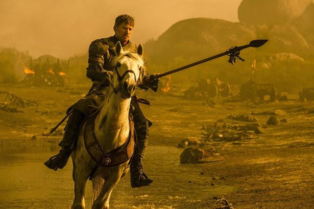 Nikolaj Coster-Waldau joue le rôle de Jamie Lannister... (PHOTO MACALL B. POLAY, AP/HBO)