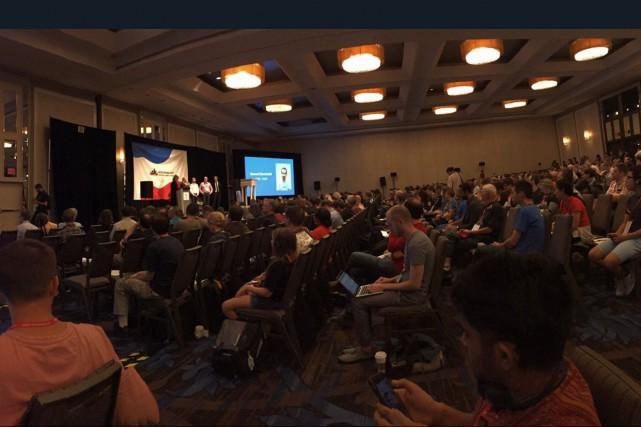 La conférence annuelle Wikimania s'est ouvert à Montréal,... (Twitter)