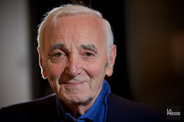 Charles Aznavour... (PHOTO ANDRÉ PICHETTE, ARCHIVES LA PRESSE)