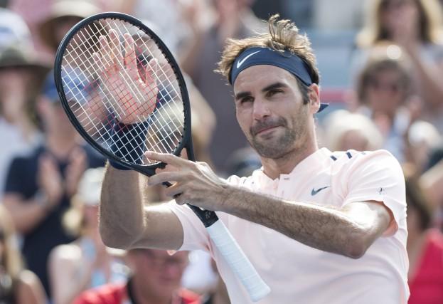 Roger FedererFederer a bouclé une rencontre d'à peine... (La Presse canadienne, Paul Chiasson)
