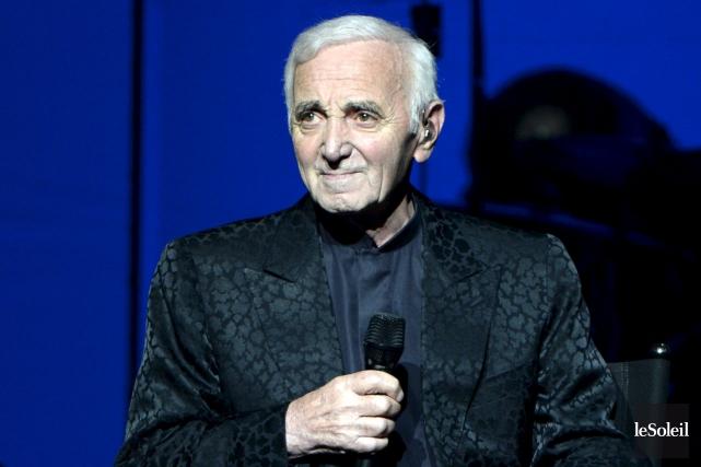 Charles Aznavour recevra son étoile à Hollywood le... (Photothèque Le Soleil)