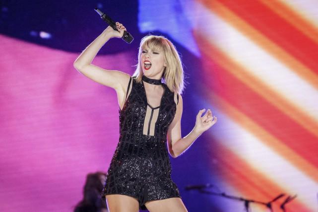 Taylor Swift a poursuivi à son tour l'ancien... (Archives AFP, SUZANNE CORDEIRO)
