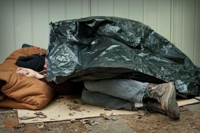 Une étude gouvernementale des refuges pour sans-abris du... (123rf)