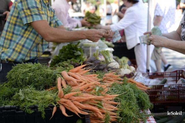 Spectacles, amuseurs publics et démonstrations culinaires, notamment, sont... (Photo Yan Doublet, archives Le Soleil)