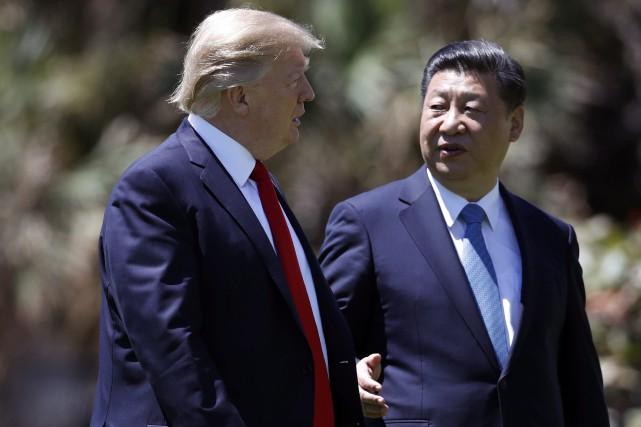 Le président chinois, Xi Jinping, a lâché un... (Archives AP)