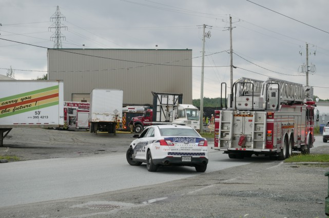 Les pompiers ont rapidement maîtrisé l'incendie.... (Spectre Média, René Marquis)