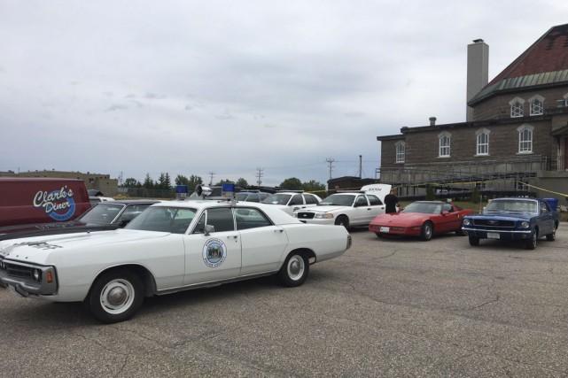 Plusieurs automobiles des années 60 seront utilisées pour... (fournie par la production)