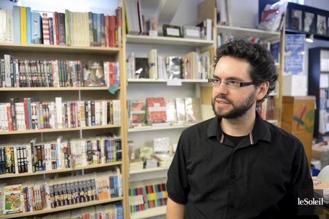 Selon Marc-Antoine Vohl-Julien, directeur de la Librairie Pantoute... (Le Soleil, Jean-Marie Villeneuve)